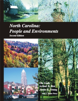 North Carolina: People and Environment book cover