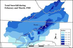 1960 snowfall totals