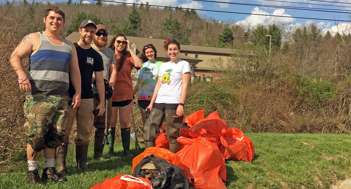 Appalachian Geographical Society River Clean-Up